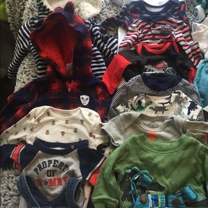 One Pieces - Large Baby boy Bundle 0-3